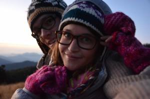 Selfie auf Poonhill