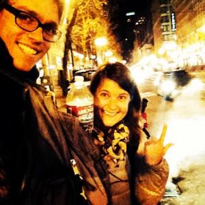 Wir-sind-da-Selfie in San Francisco