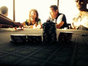 IHR Ausblick bei IHREM ersten Poker-Spiel