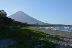 Der Vulkan Concepcion auf der Insel Ometepe