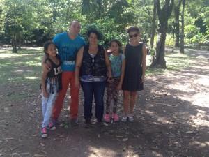 Immer für einem Plausch zu haben: Kolumbianer freuen sich über den Tourismus. Er zeigt, dass es bergauf geht