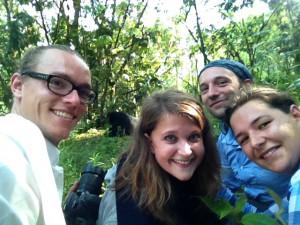Selfie mit Gorilla