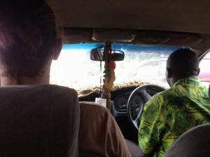 Taxi nach Entebbe